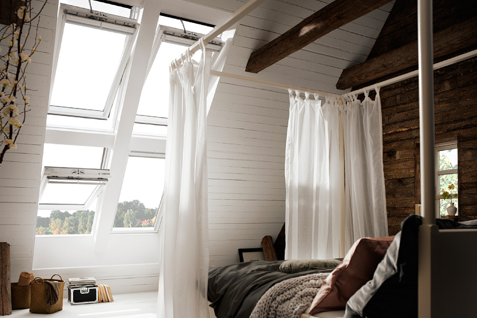 Fenêtre Velux Integra finition blanche