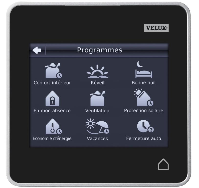 La télécommande tactile Velux Integra